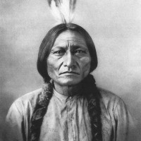 Portrait de Sitting Bull
